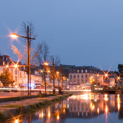 Lannion by night